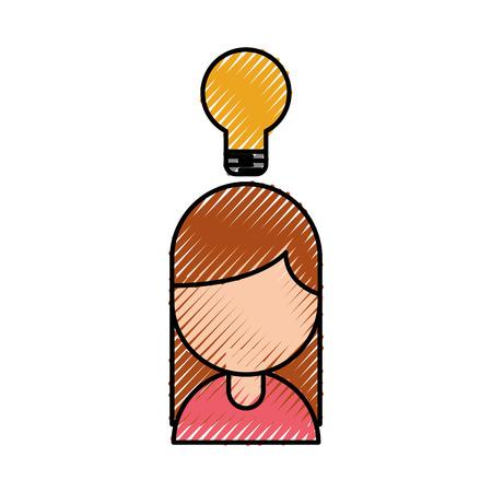 mensen bedrijf idee creativiteit succes werk vectorillustratie