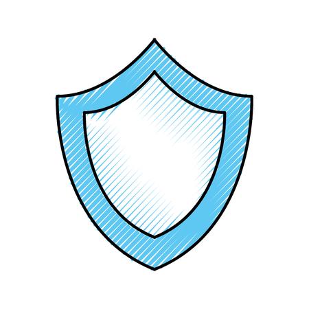 Ilustración de vector de icono de tecnología de sistema seguro protección de escudo Foto de archivo - 85441632