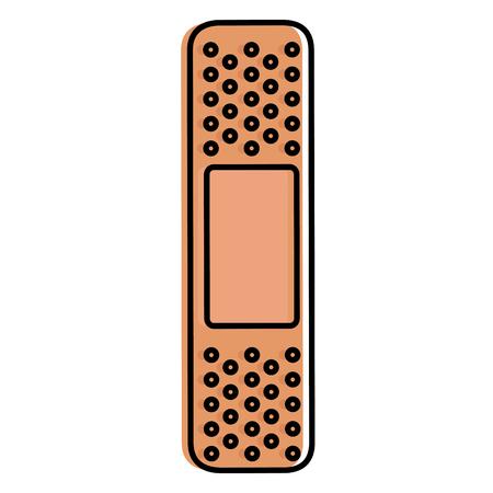 cure bandages isolated icon vector illustration design Ilustração