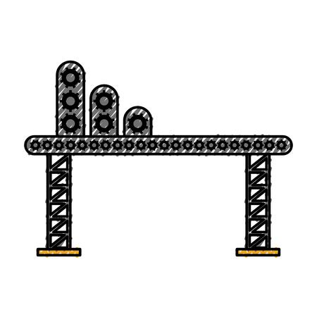 建設機械ベクトル図足場用品