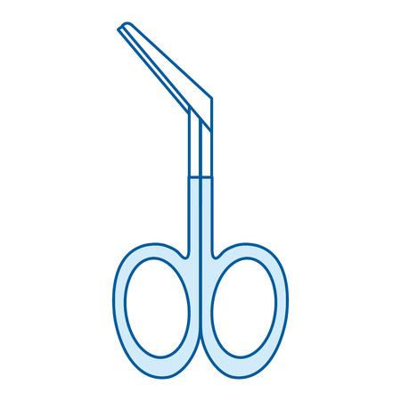 surgical scissors isolated icon vector illustration design Фото со стока - 85458379