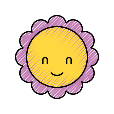 Leuke de groetgroei van de bloembaby showerdecoratie. Stock Illustratie