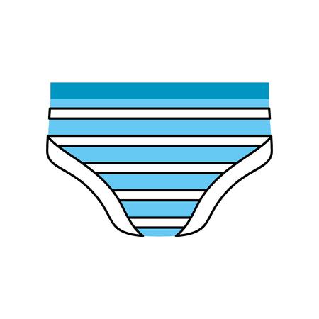 Babydouche pictogram voor pasgeboren babyjongen.