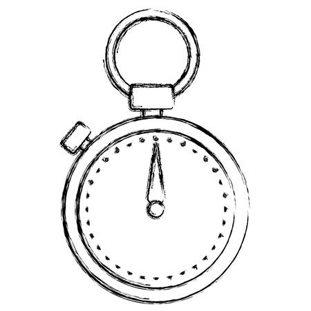 クロノメータータイマー分離アイコンベクトルイラストデザイン  イラスト・ベクター素材