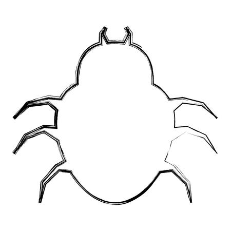 Spider icon Ilustração