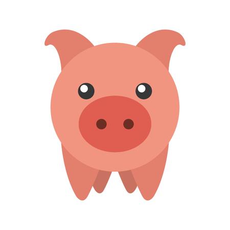 ピギー銀行貯蓄のお金の概念  イラスト・ベクター素材