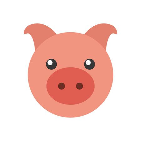 Piggy bank saving money concept