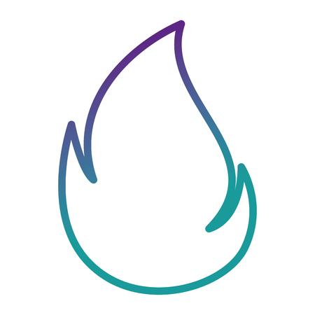Vuur vlam geïsoleerd pictogram vector illustratie ontwerp Stockfoto - 85482257