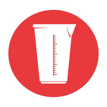 kitchen liter jar icon vector illustration design