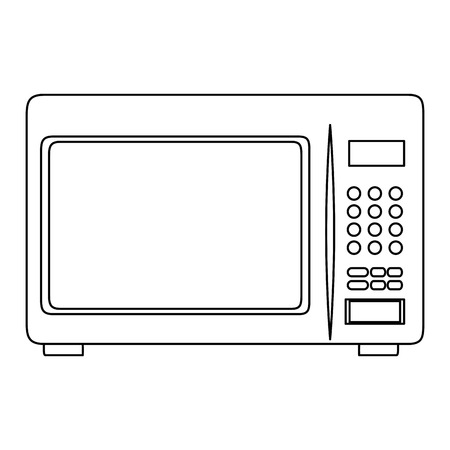 microwave oven isolated icon vector illustration design Imagens - 85482678
