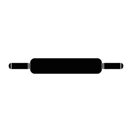 Diseño del ejemplo del vector del icono de los pasteles de madera del rollo Foto de archivo - 85482755