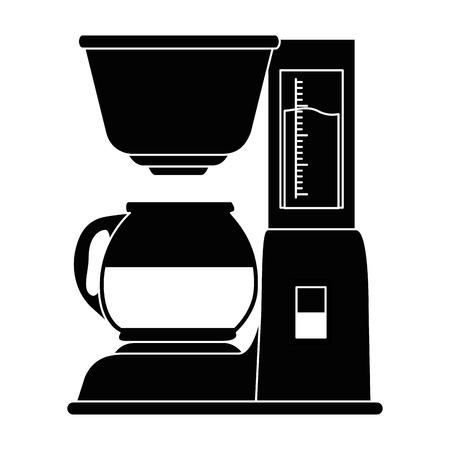 coffee machine isolated icon vector illustration design Çizim