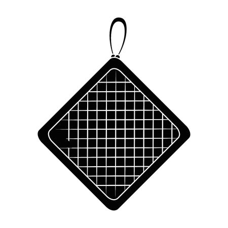 kitchen rag isolated icon vector illustration design Ilustração