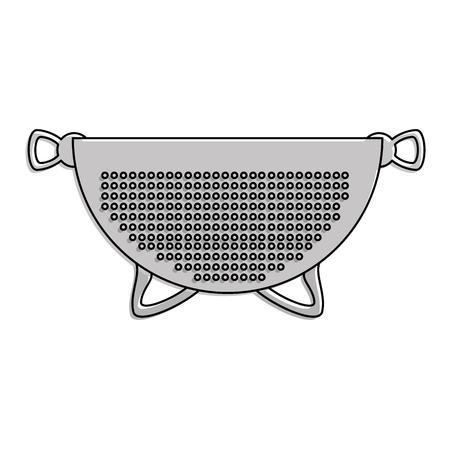metallic strainer isolated icon vector illustration design Иллюстрация