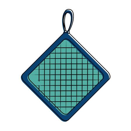 kitchen rag isolated icon vector illustration design Illusztráció