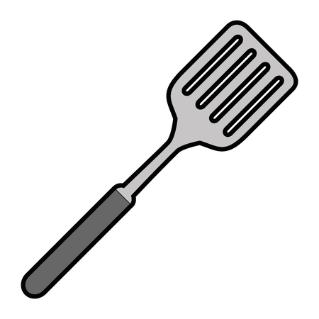spatula kitchen cutlery icon vector illustration design
