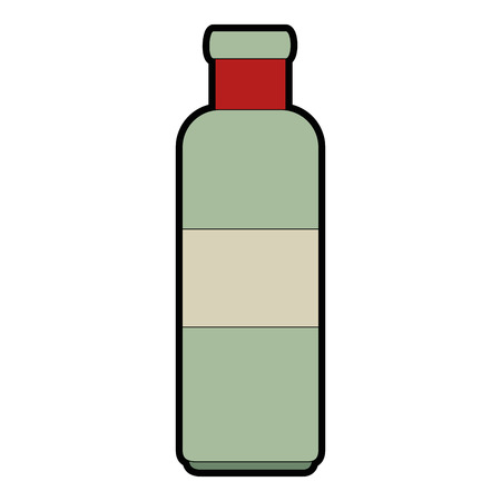 bottle kitchen product icon vector illustration design Imagens - 85484249