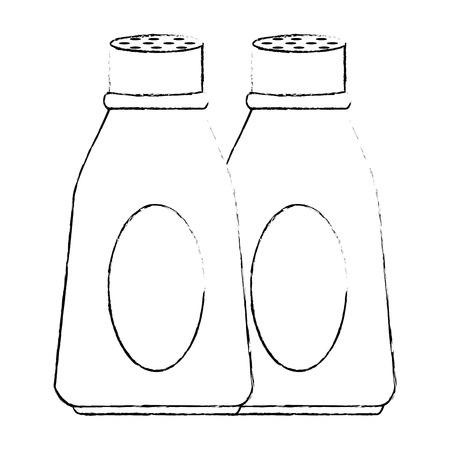 bottle kitchen product icon vector illustration design Ilustrace