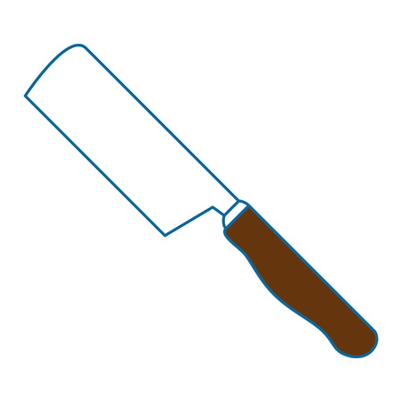 ax kitchen cutlery icon vector illustration design Ilustrace