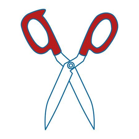 kitchen scissors isolated icon vector illustration design