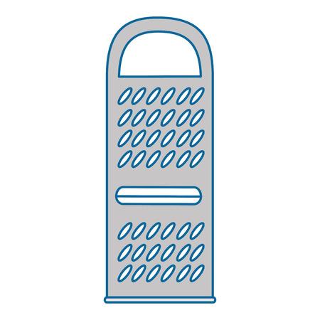 치즈 강판 격리 아이콘 벡터 일러스트 디자인