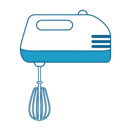 mixer appliance isolated icon vector illustration design Çizim