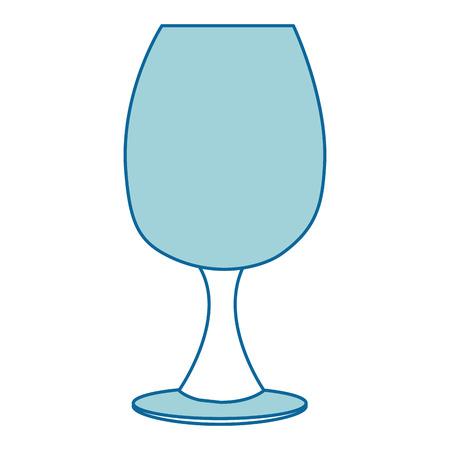 champagne celebration: wine cup isolated icon vector illustration design Illustration