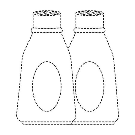 キッチン製品アイコンのボトル