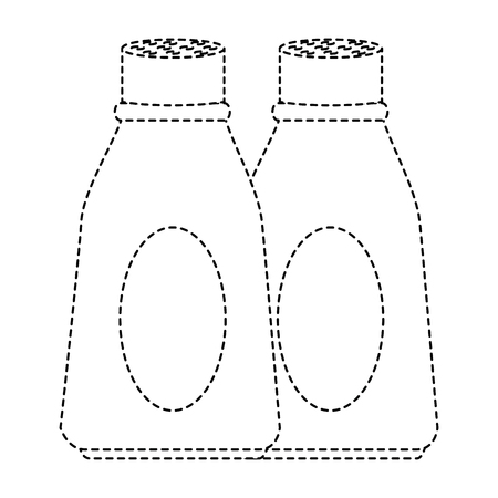 Bottles of kitchen product icon