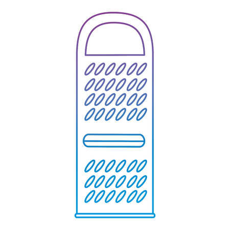 cheese grater isolated icon vector illustration design Illusztráció