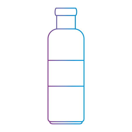 キッチン製品アイコン用ボトル  イラスト・ベクター素材