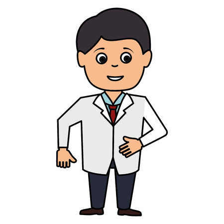 male doctor avatar character vector illustration design Stok Fotoğraf - 85574312