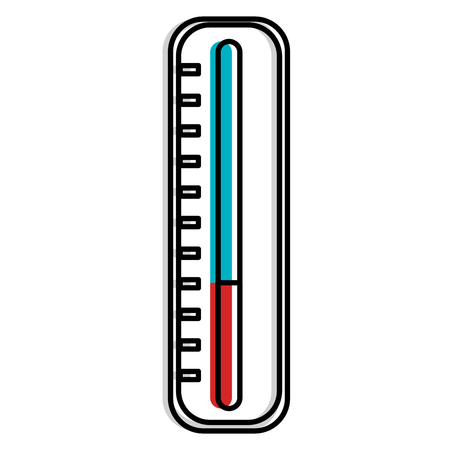 thermometer medical isolated icon vector illustration design Illustration