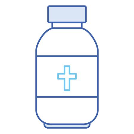 ボトル医療分離アイコンベクトルイラストデザイン  イラスト・ベクター素材