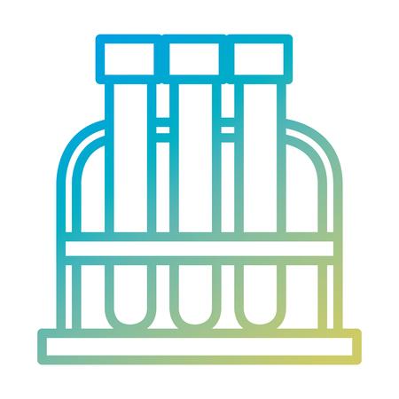 pharmacy symbol: tube test isolated icon vector illustration design