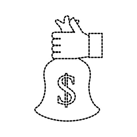 Illustrazione di vettore di banca bancario di banca di banca di affari di banca di affari di affari Archivio Fotografico - 85616236