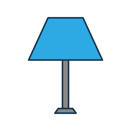 ランプ家具光の電気装飾機器ベクトル図