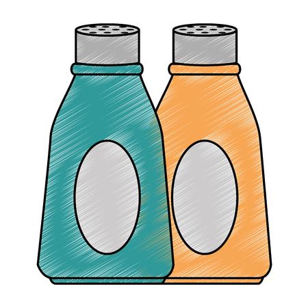 bottle kitchen product icon vector illustration design Imagens - 85655119