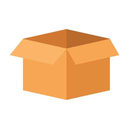 box carton isolated icon vector illustration design 版權商用圖片 - 85655120