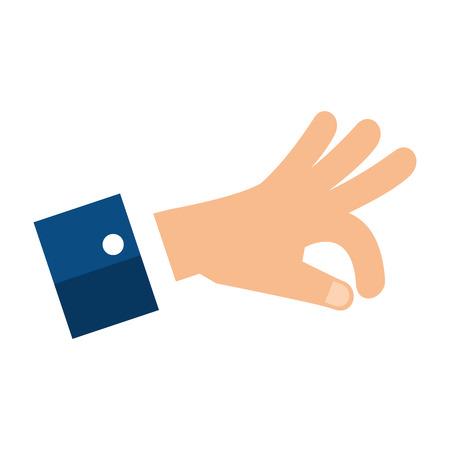 Menselijke hand vangen pictogram vector illustratie ontwerp Stockfoto - 85656562