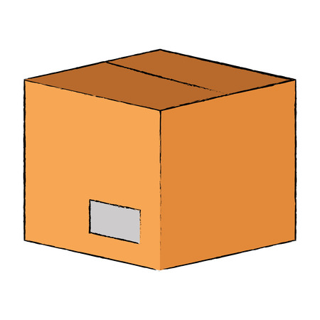 box carton isolated icon vector illustration design 版權商用圖片 - 85657260