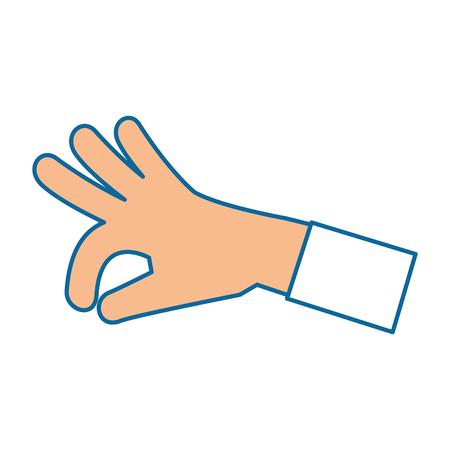 human hand catching icon vector illustration design Illustration