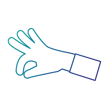 human hand catching icon vector illustration design Çizim