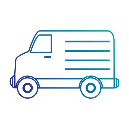 car isolated: delivery truck isolated icon vector illustration design