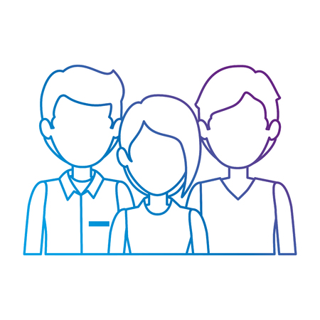 group of business people vector illustration design Imagens - 85687619