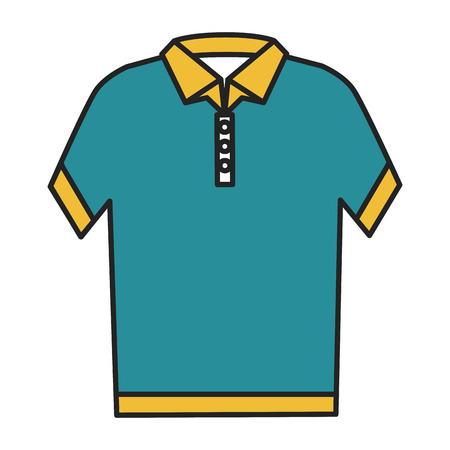 neck shirt isolated icon vector illustration design