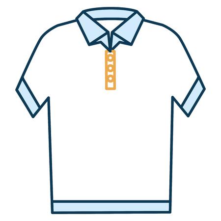 neck shirt isolated icon vector illustration design