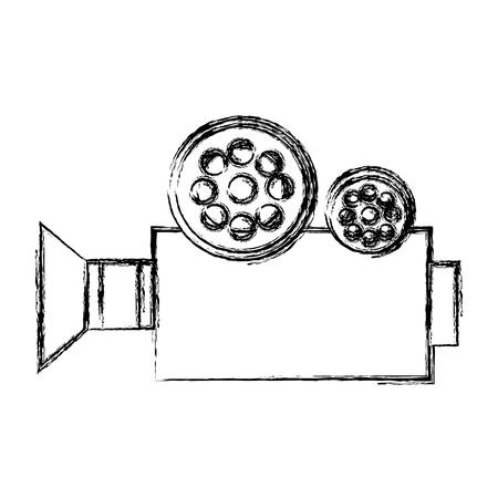 film industry: film video camera icon vector illustration design Illustration
