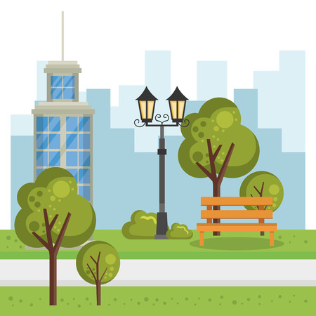 buildings with cityscape scene vector illustration design Zdjęcie Seryjne - 85691010