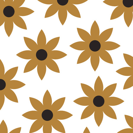 christmas poinsettia flower decoration celebration seamless pattern vector illustration Stock fotó - 85726214